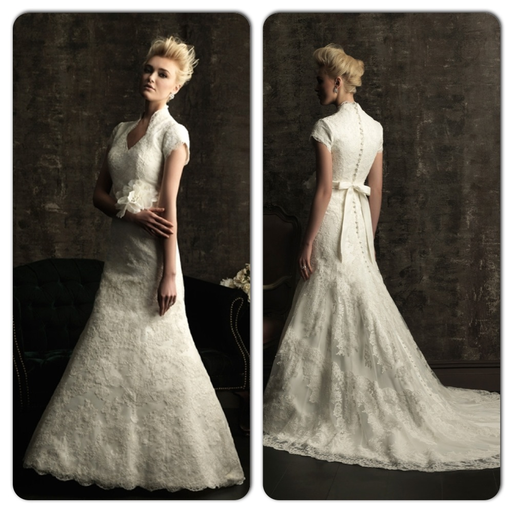 Modest Wedding Dresses California