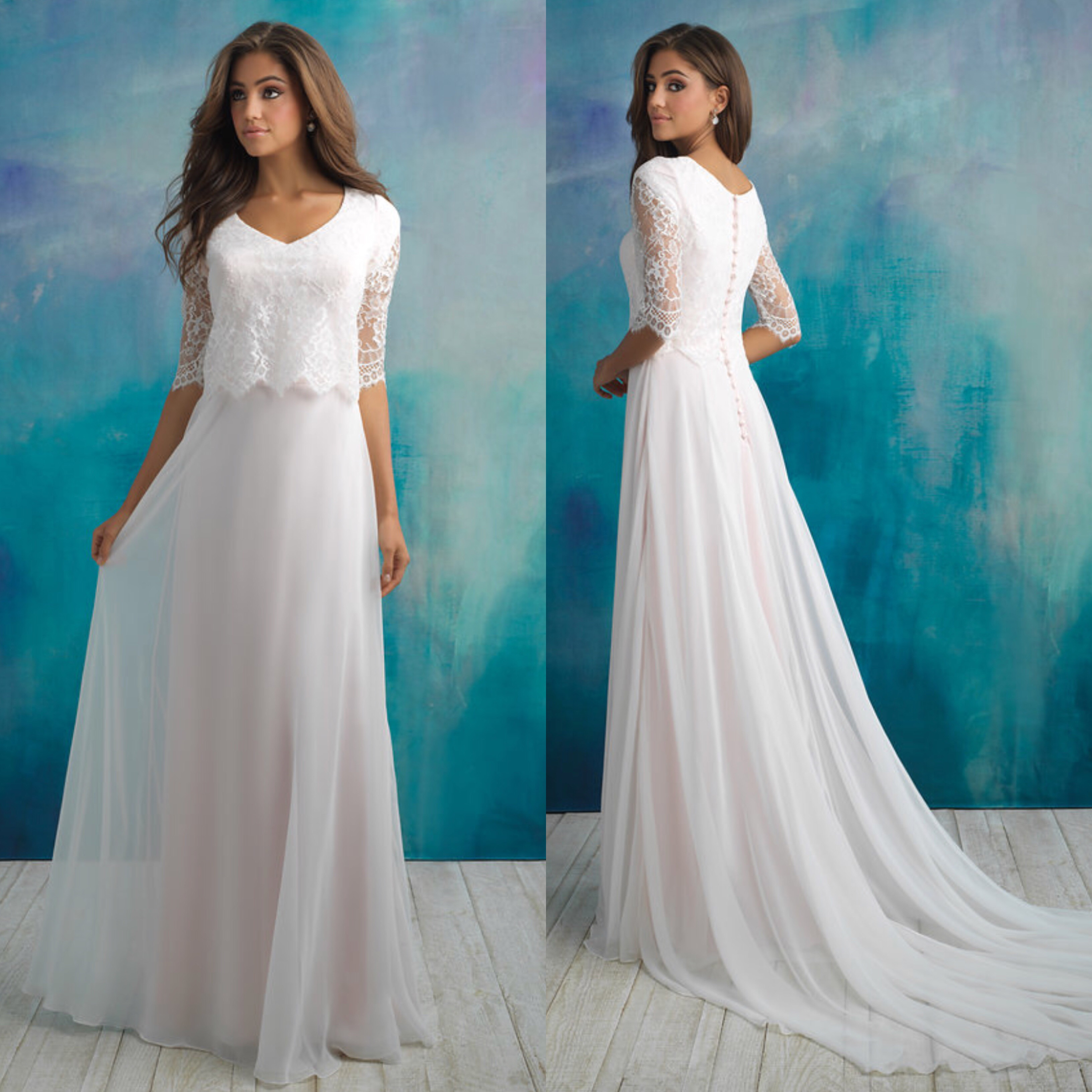Bridal Collection 1 - The Hitching Post - Modest Wedding Dresses ...