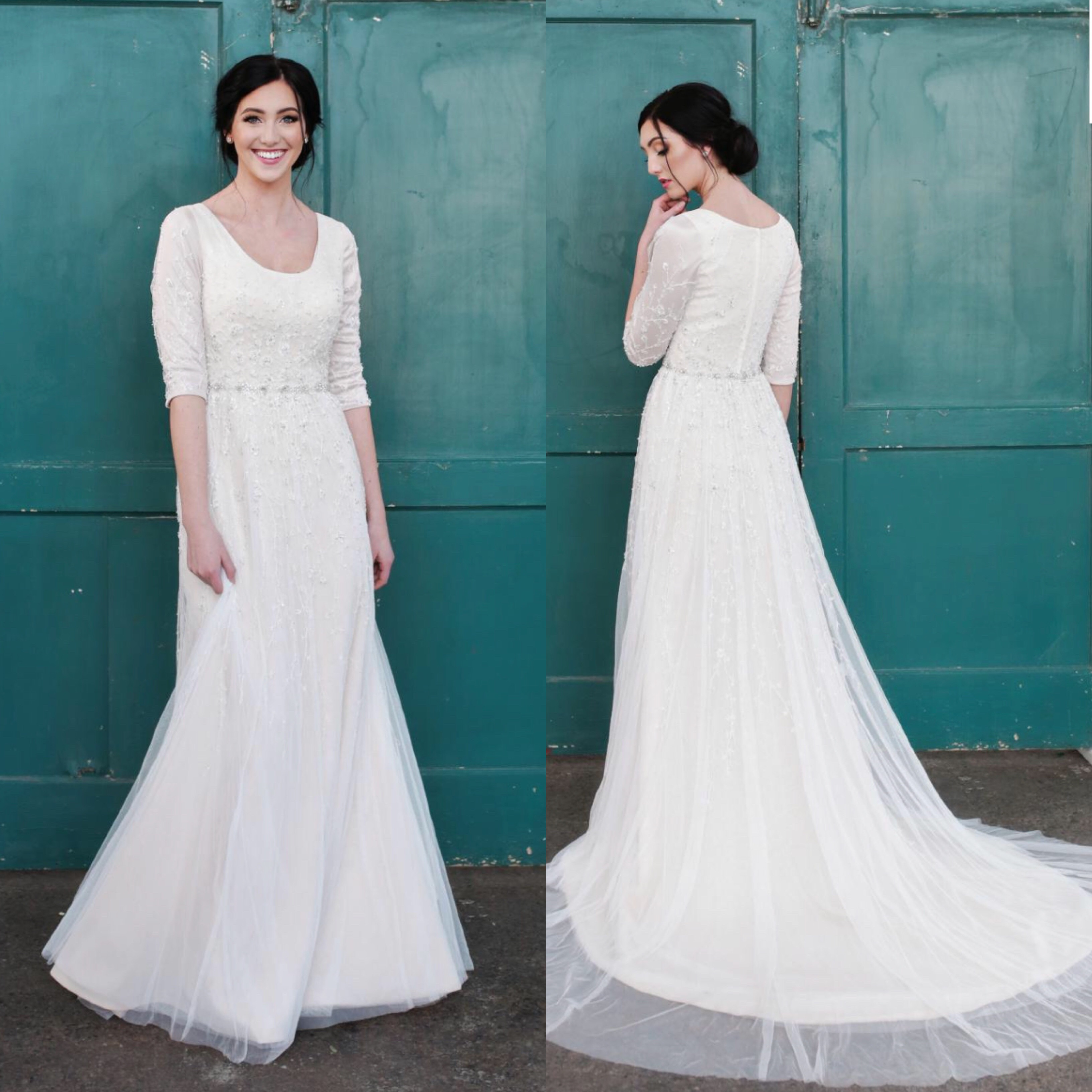 Bridal Collection 4 - The Hitching Post - Modest Wedding Dresses ...